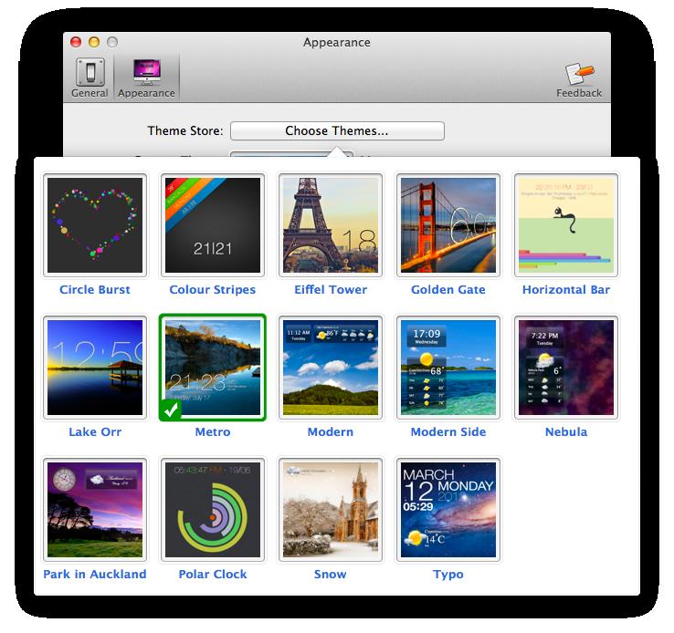 Raindrops Live Wallpaper: Live Wallpaper App For Mac OS X